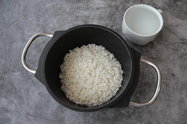 Как промыть рис?