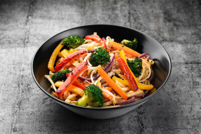 Удон-с-овощами